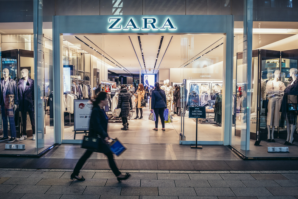 Zara Will Link Its Store Windows With Augmented Reality