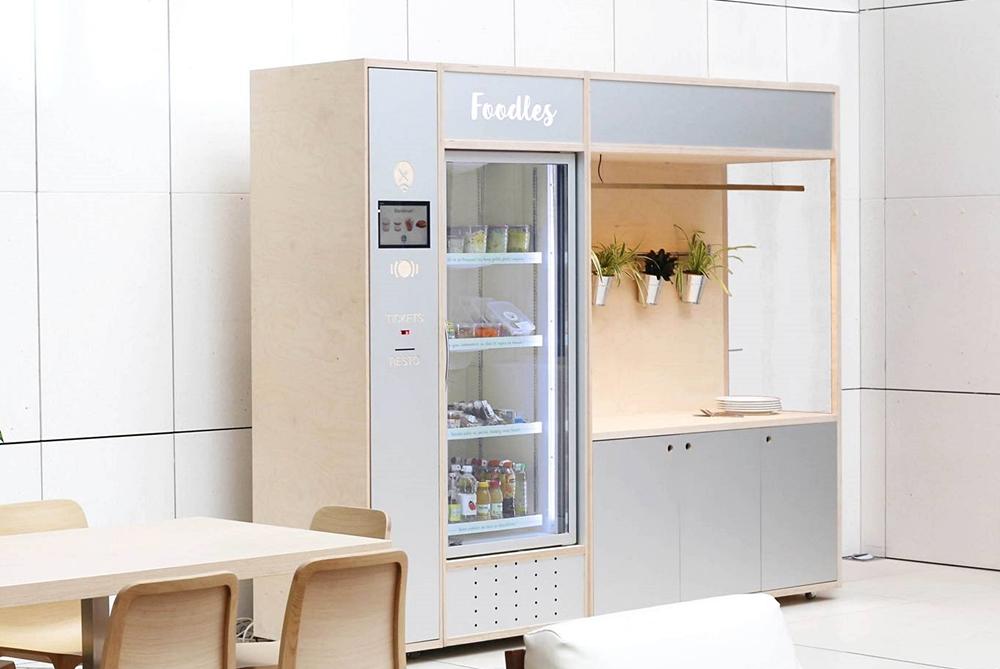 This Vending Machine Prepares Hot Gourmet Meals For Parisian Workers
