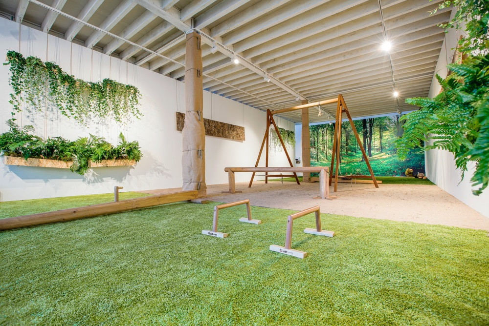 Plant-Focused Gym Design Brings The Outdoors Inside