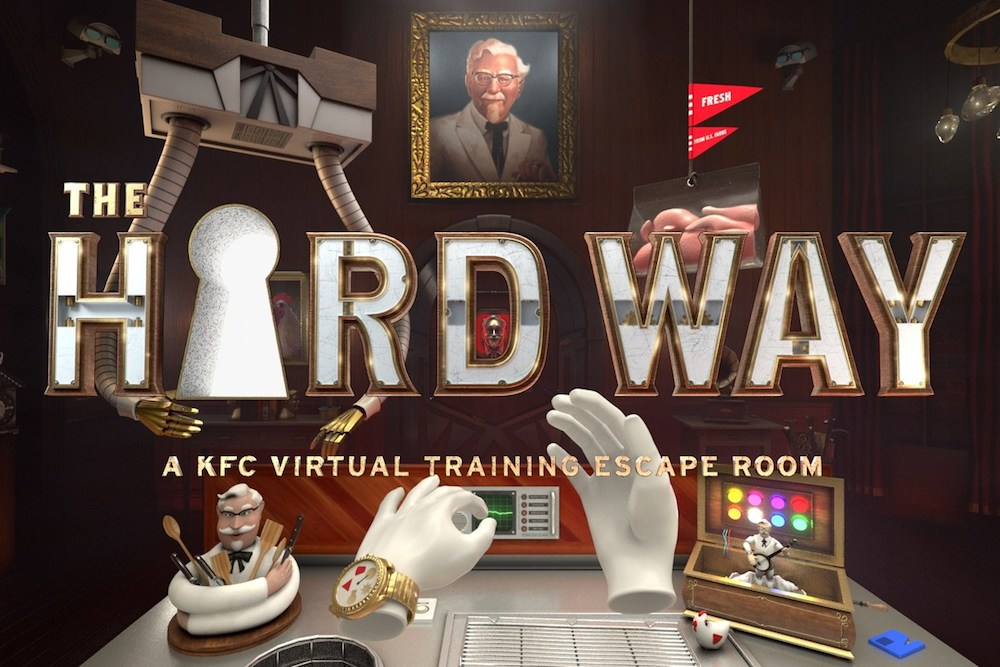 KFC Remodeled One Restaurant To Highlight Its VR Training Simulator