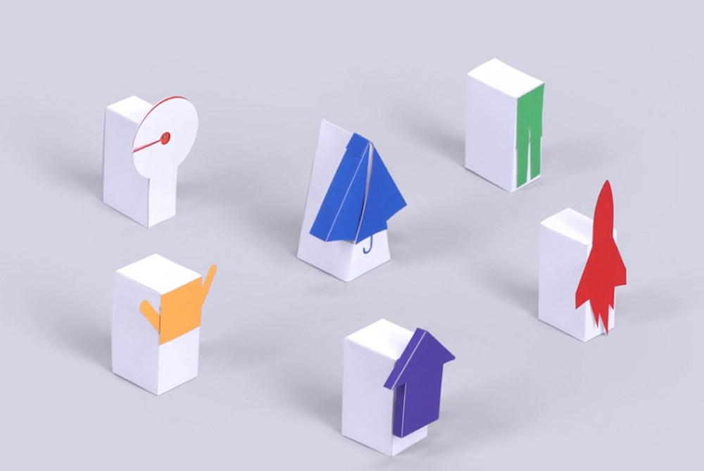 Google Kit Lets You Control Small Paper Objects With Your Voice