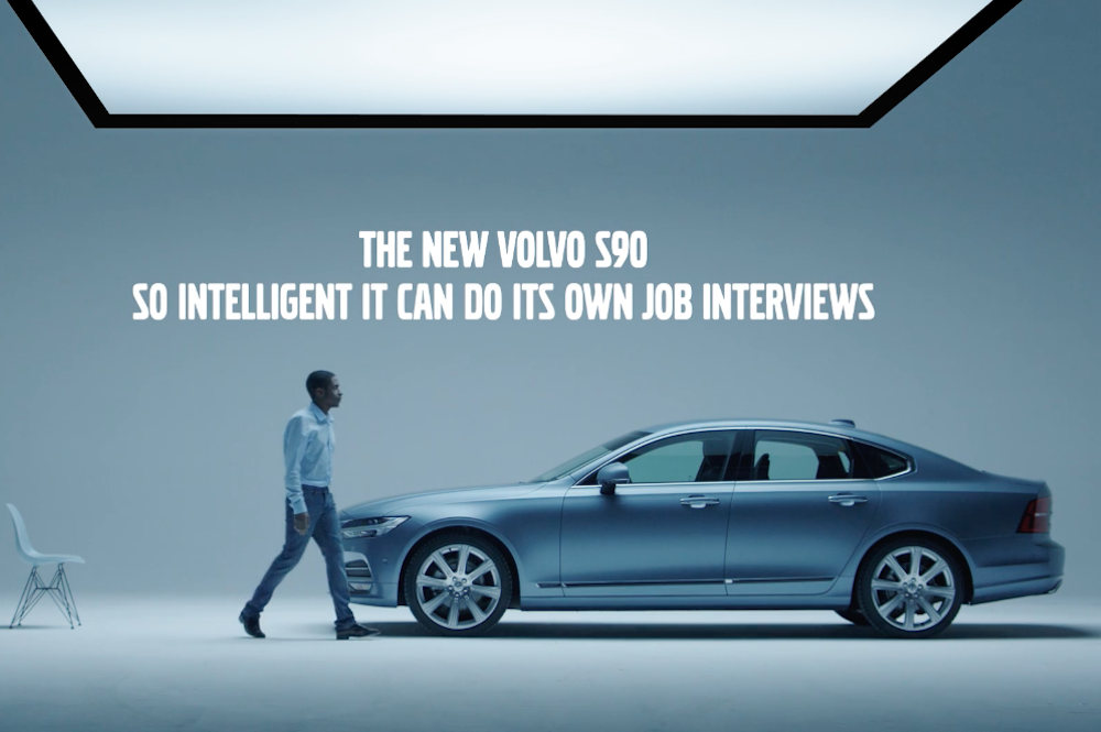 Volvo Ad Uses Car's AI To Conduct Job Interviews