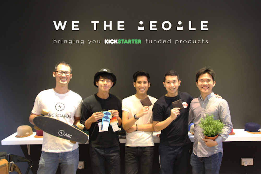 Singapore Store Only Sells Products Funded On Kickstarter