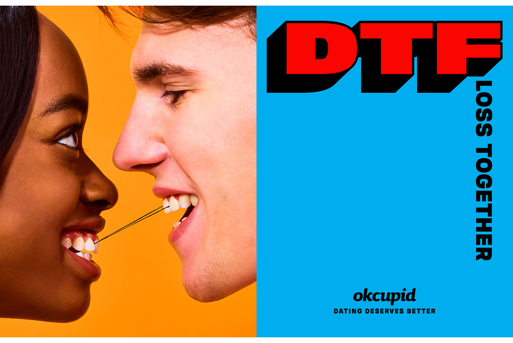 OkCupid Wants To Change Swipe Culture By Redefining 'DTF'