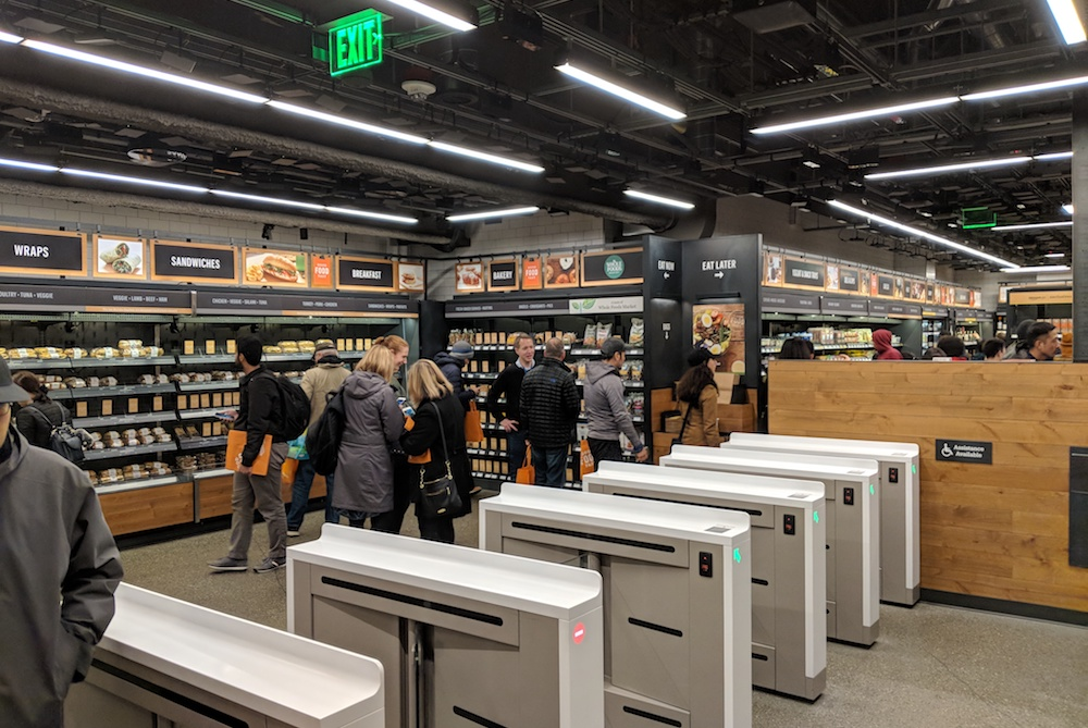 Interview: Tech Expert On His Visit To The New Amazon Go Store