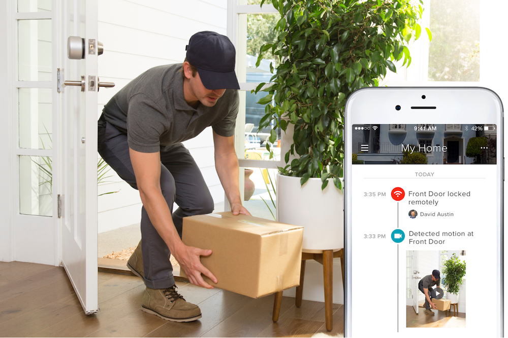Connected Lock Enables In-Home Delivery From Any Retailer