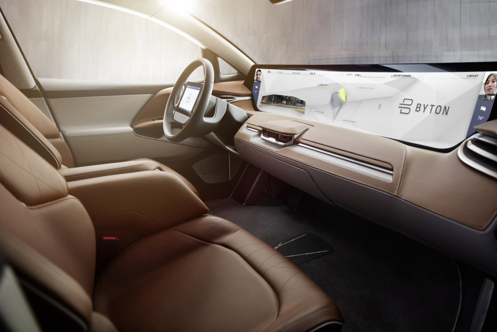 Byton Smart SUV Debuts At CES With Biometric Vehicle Controls