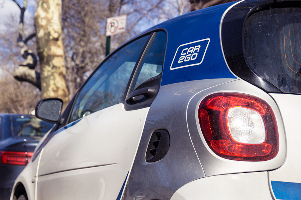 New York City Is Testing Carsharing-Only Parking Spaces
