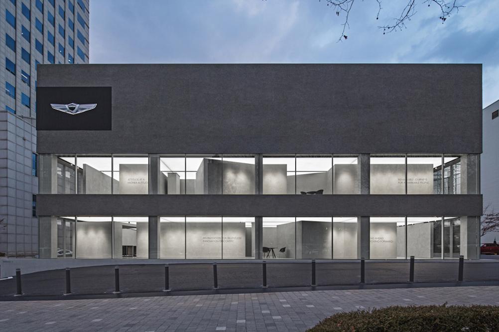 Prada Store Architects Design Car Showroom For The Genesis Brand