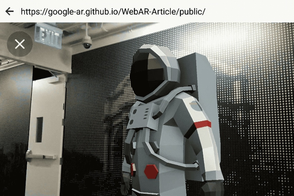 Google Viewer Adds AR Graphics To Any Mobile Website