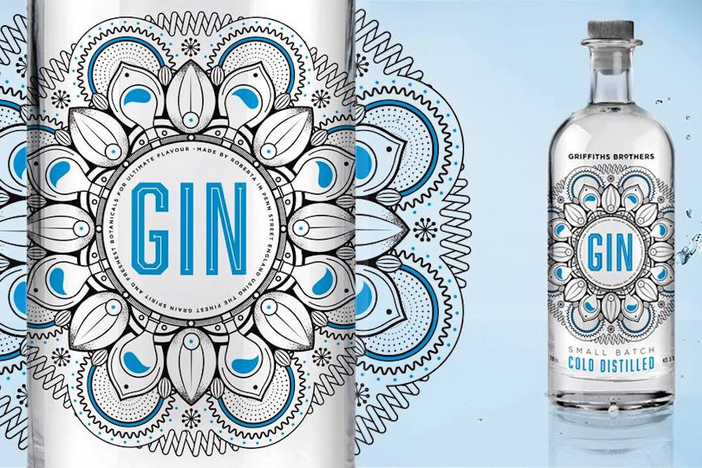Gin Comes With Color-Changing Label To Show When It's Ready To Drink