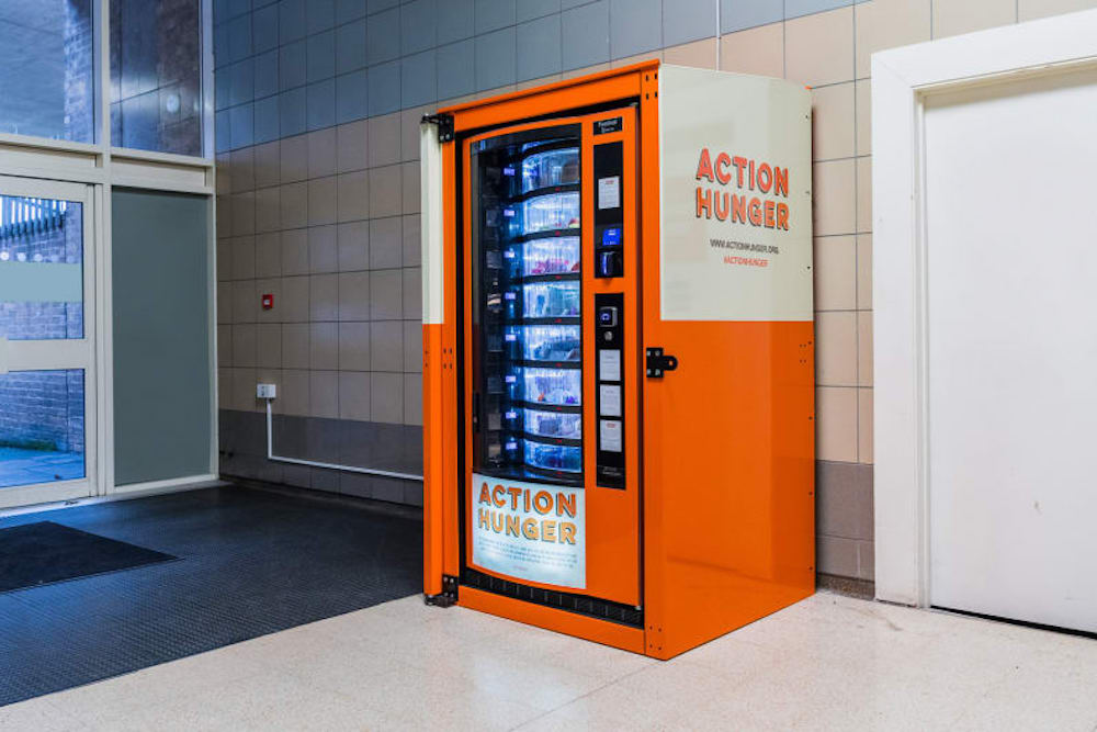 Free Vending Machines Provide The Homeless With Basic Necessities