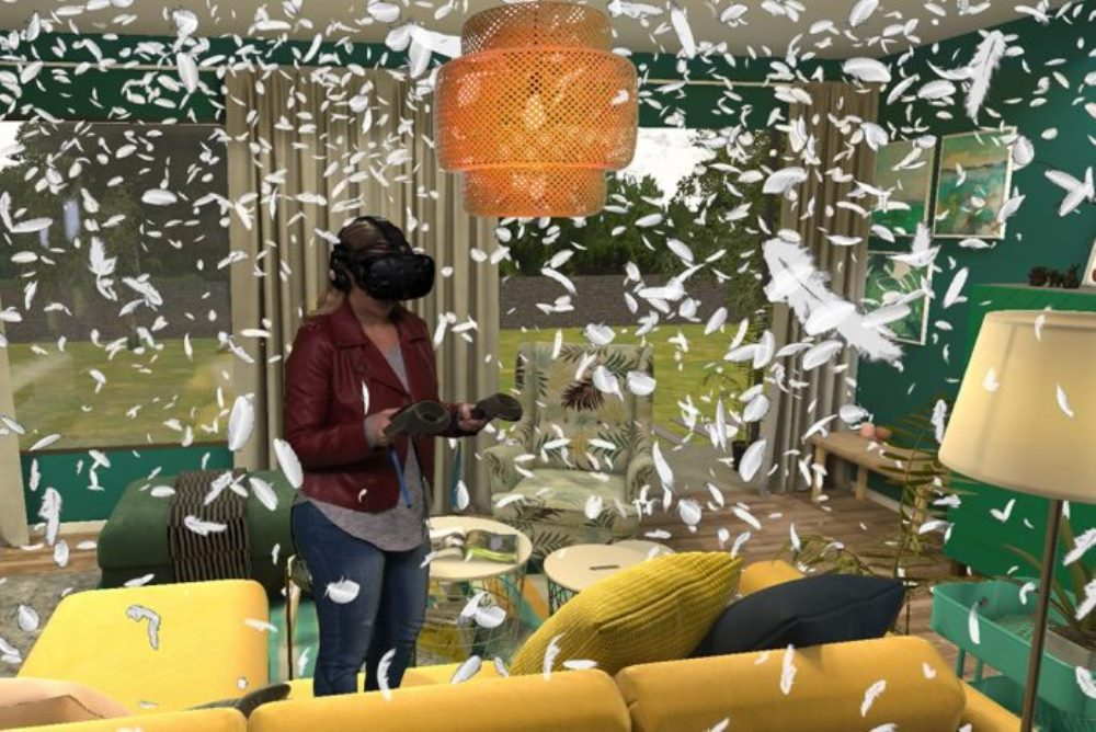 IKEA Store Opening Entertained Customers With A VR Pillow Game