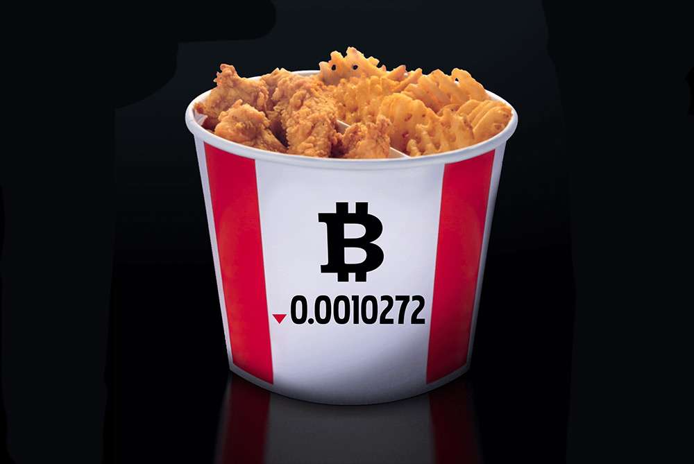 KFC Canada Has A Menu Item That Can Only Be Bought With Bitcoin