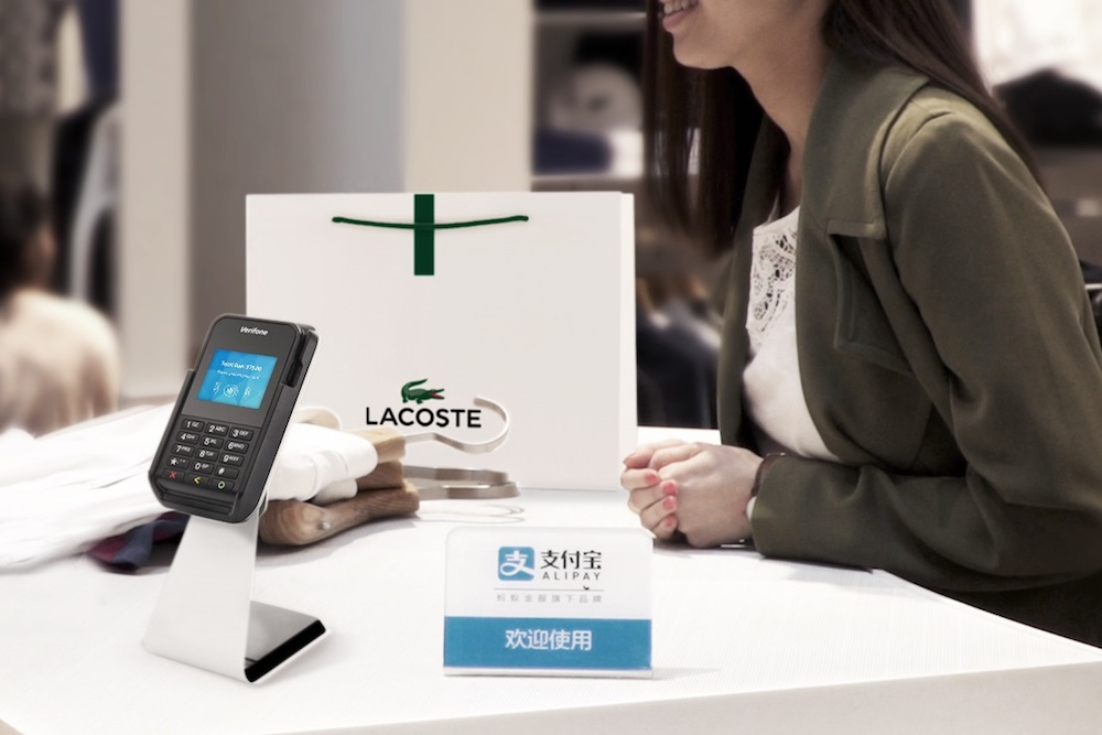Lacoste Stores Are Adopting Alipay To Attract Tourists From China