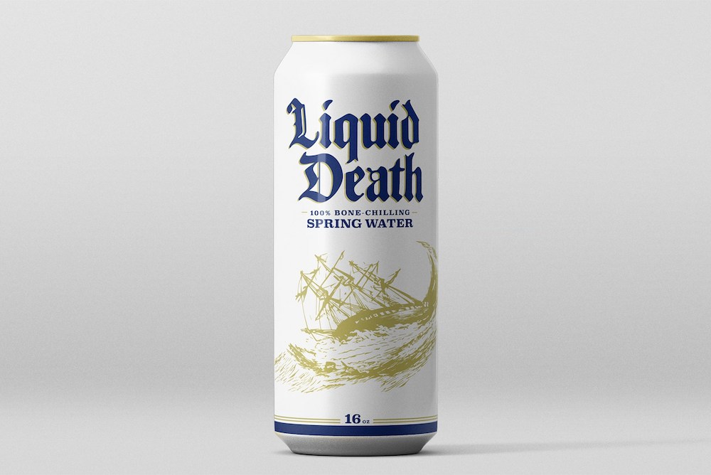 Tongue-In-Cheek Water Rebranding Targets Energy Drink Fans