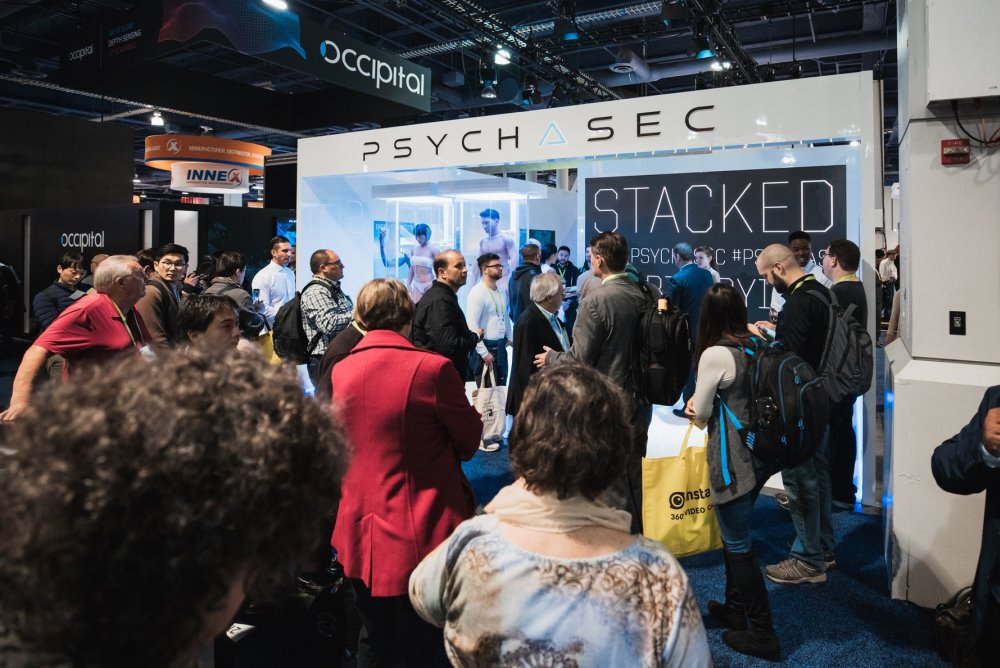Netflix Planted A Fake Biotech Booth At CES To Promote A New Sci-Fi Show
