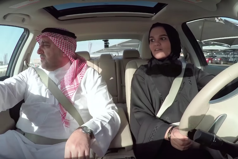Nissan Campaign Teaches Women In Saudi Arabia How To Drive