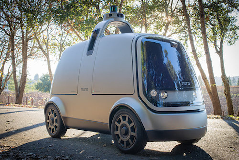 Dinner And Dry Cleaning Could Soon Arrive By Autonomous Microvan