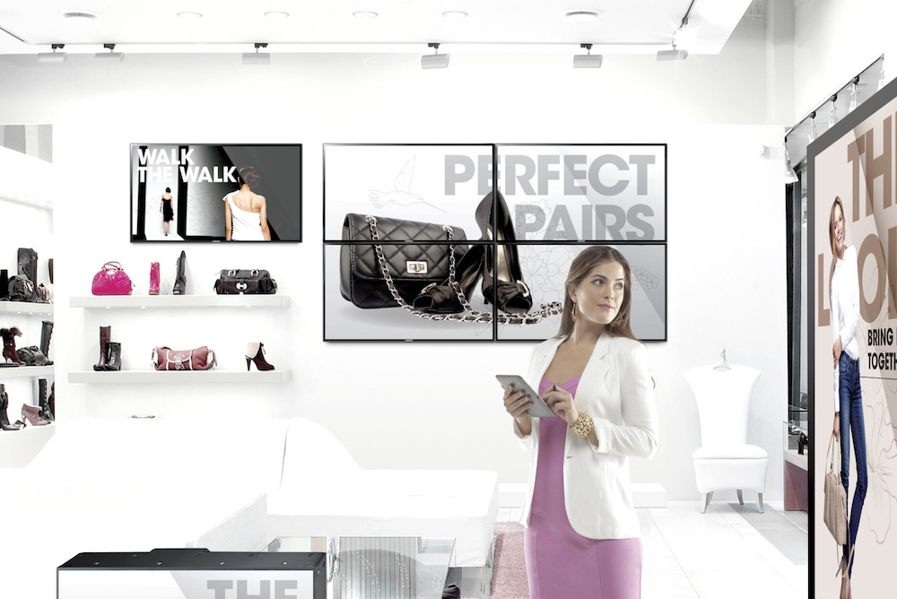 Samsung's 'Connected Spaces' Help Retailers Provide Personalized Service