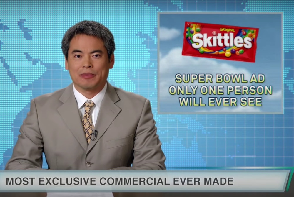 Skittles Is Creating The Most Exclusive Super Bowl Ad Ever