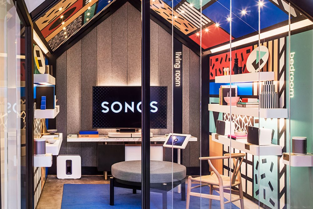 London Sonos Store's Listening Rooms Are Custom Built For Good Acoustics