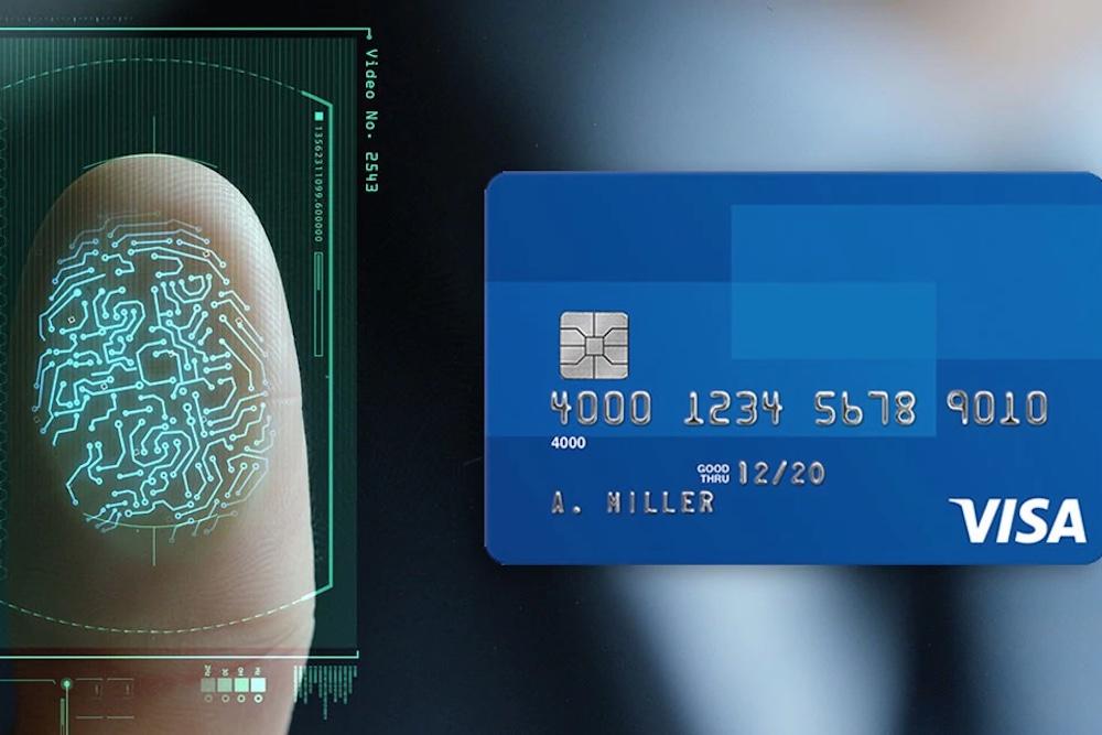 Visa Tests A New Secure Card That Verifies Your Fingerprint