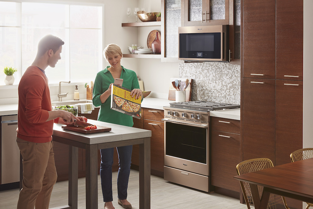 Whirlpool Oven Connects To Voice Assistants And Recipe App