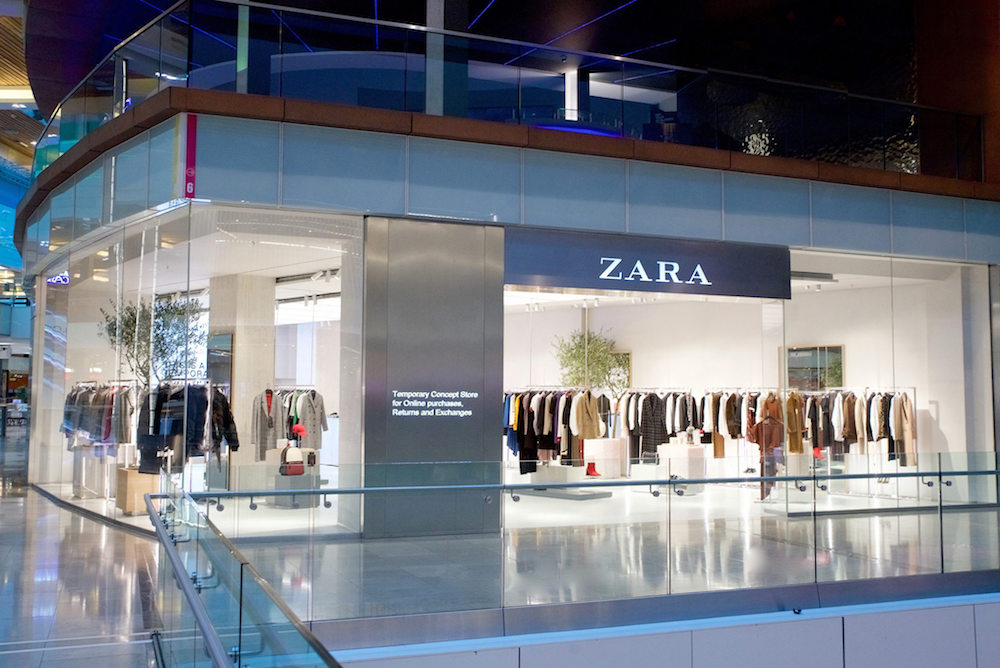 Zara Retail Concept Brings E-Commerce Features Into The Store