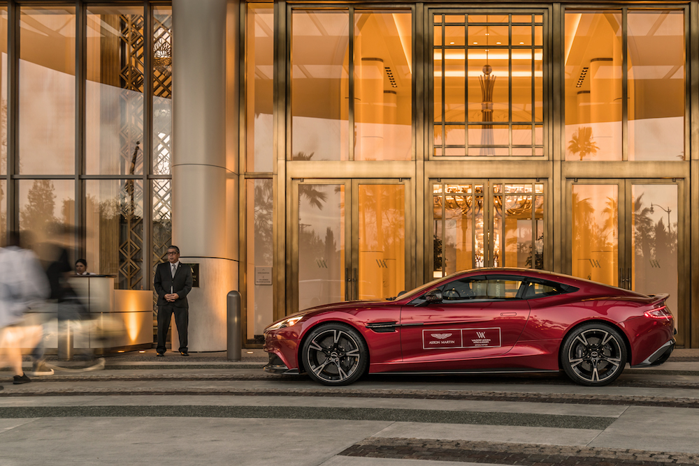 Luxury Hotel Package Gives Guests An Aston Martin With Their Room