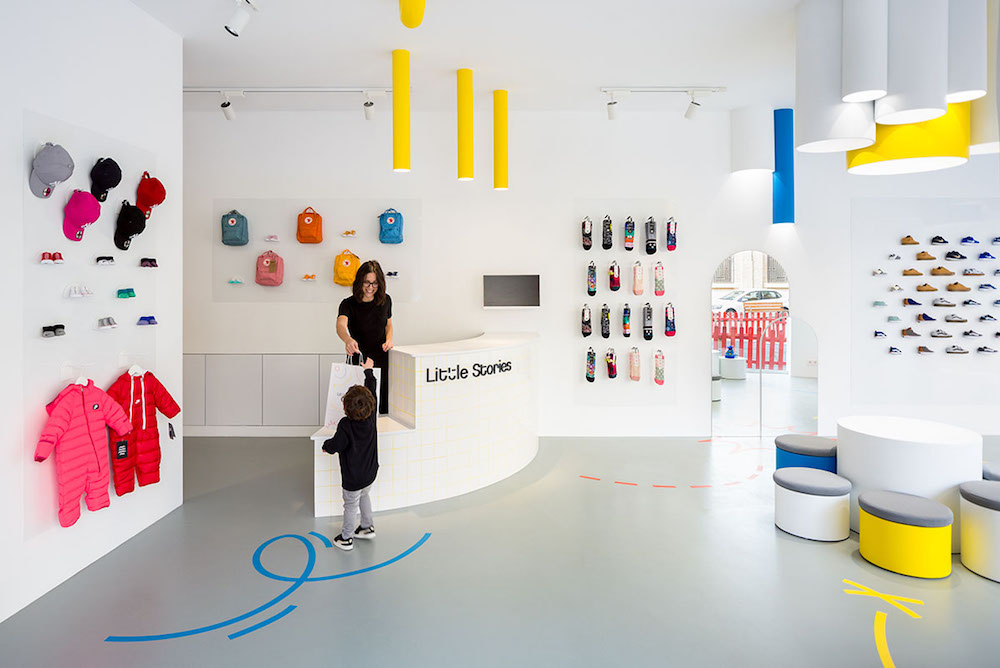 This Children's Shoe Store Was Designed For Restless Kids
