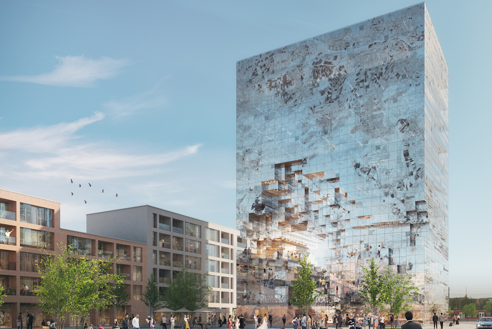 A New Building In Germany Will Be Integrated With QR Codes