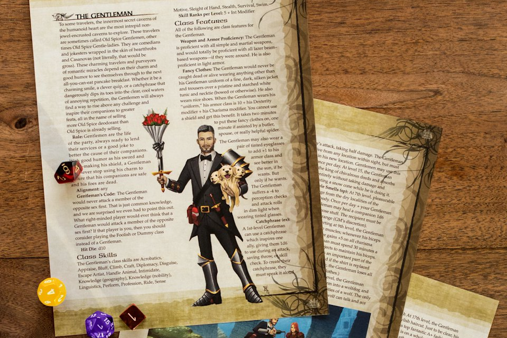Old Spice Creates A Playable Character Class For Dungeons & Dragons