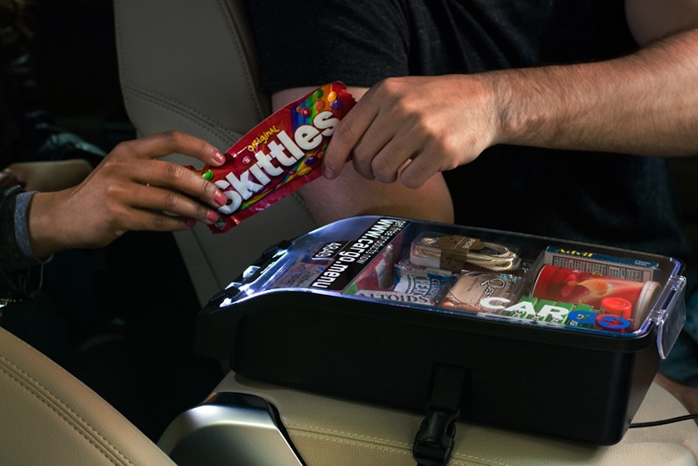 Rideshare Convenience Box Lets Passengers Pay For Their Purchases Through Venmo
