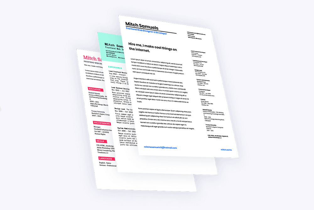 Automatically Transform Your LinkedIn Profile Into A Professional CV