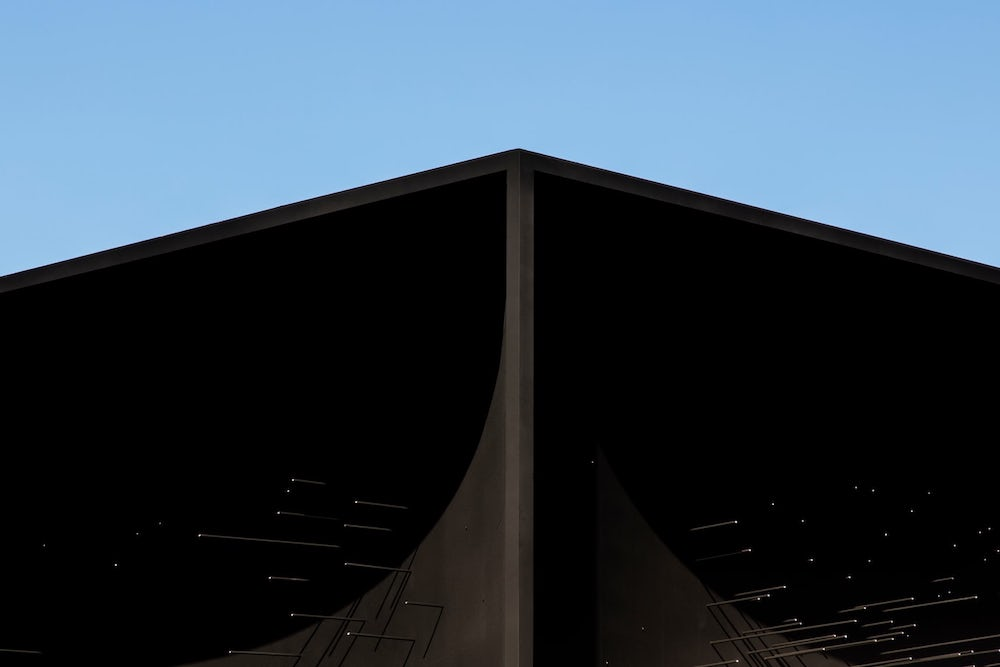 This Olympic Pavilion Can Claim To Be The Darkest Building On Earth