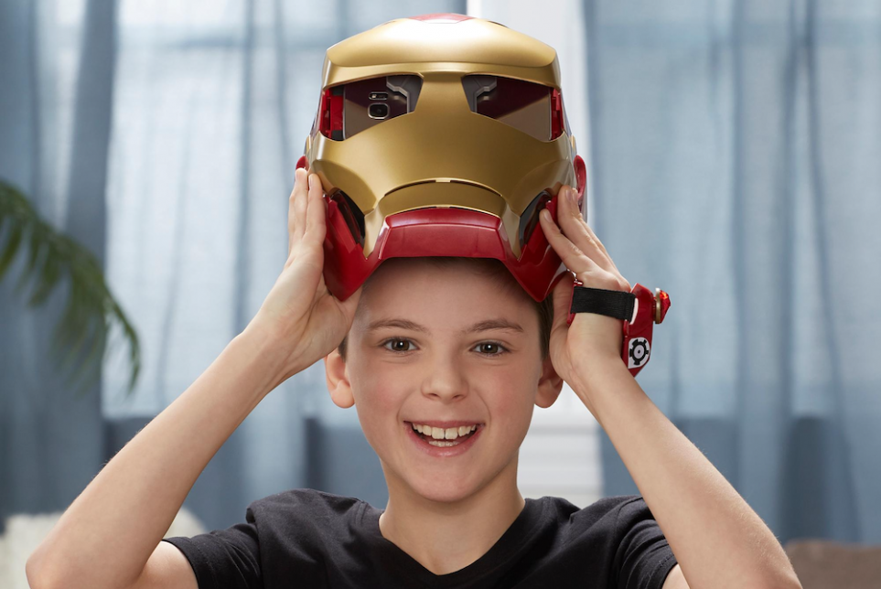 Hasbro's AR Helmet Lets Players Become Iron Man