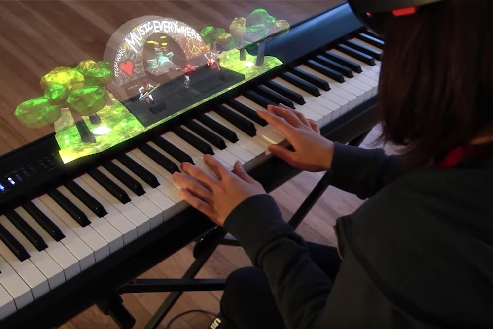 Augmented Reality Can Teach You How To Play The Piano