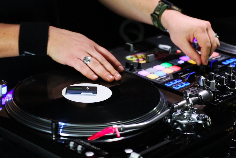 Portable Device Lets DJs Spin Vinyl Without A Needle