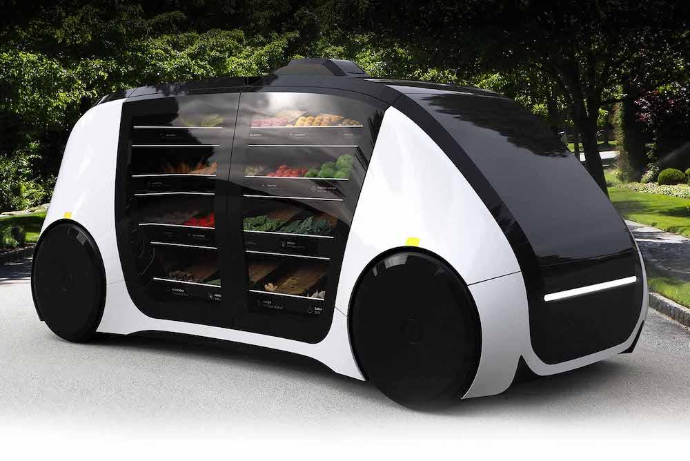 Autonomous Produce Van Could Deliver Fruits and Vegetables On Demand