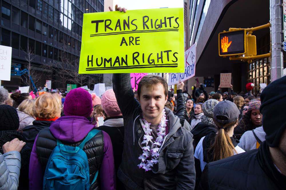 LUSH Fights For Transgender Rights With A Large-Scale Campaign