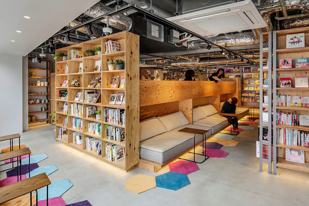 This Tokyo Bookstore Encourages Visitors To Stay Overnight