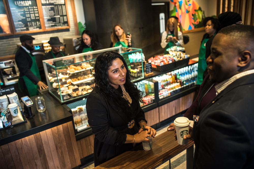 Starbucks' Latest Store In Brooklyn Focuses On Local Community Building