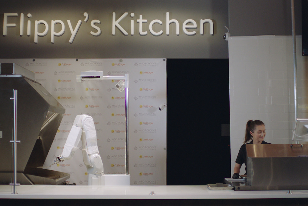 A Burger-Flipping Robot Is Now Operating The Grill At CaliBurger