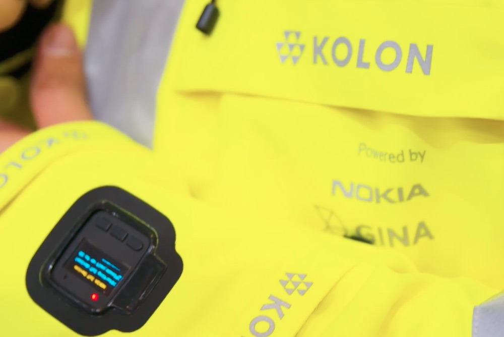Nokia Is Developing A Connected Jacket For First Responders