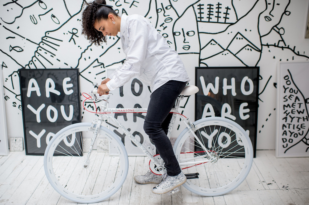 Artist Shantell Martin Brings Her Bold Designs To Puma's Spring Style