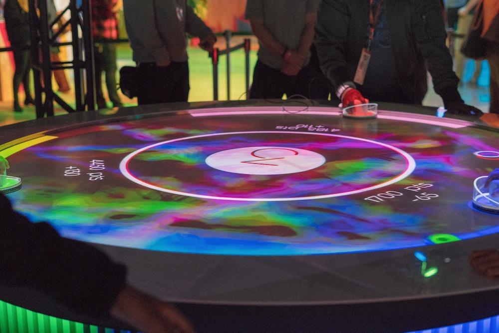 Sony's Augmented Reality Air Hockey Amplifies The Game