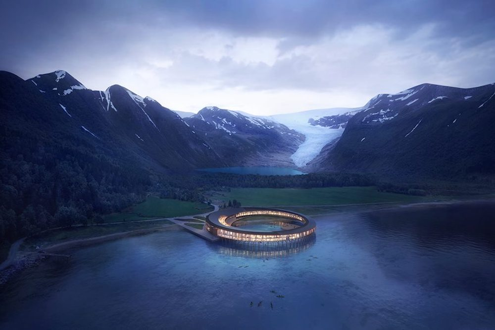 The World's First Energy-Positive Hotel Is Planned For The Arctic