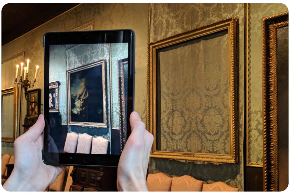 AR Reinstalls Stolen Artwork At A Boston Museum