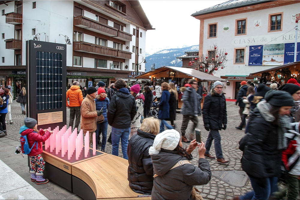 Audi Is Gathering Data To Measure The Environment Around A Small Skiing Town
